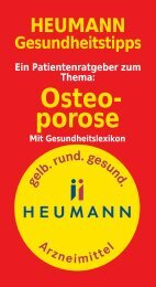 Osteo- porose - Heumann Pharma GmbH