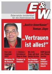 """Austro-Amerikaner"" Roman Jäger - E&W"