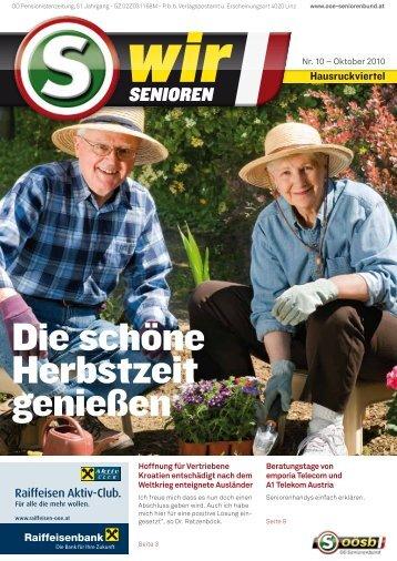 Oktober 2010 - OÖ Seniorenbund