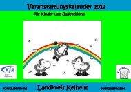 Veranstaltungskalender 2012 Druckerei neu - KJR Kelheim ...