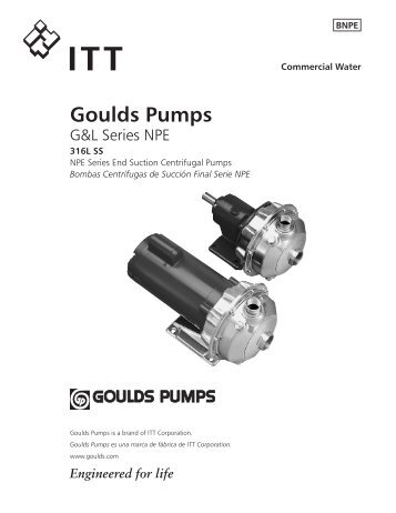 Goulds Pumps - Enviro-Equipment, Inc.