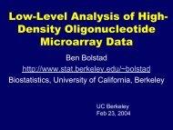 Berkeley Version - Ben Bolstad