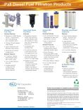 Pall Diesel Fuel Filtration - IMDFFEN - Pall Corporation - Page 4