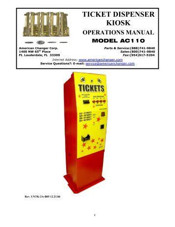 franke frozen fry dispenser service manual