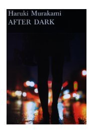 HARUKI MURAKAMI After Dark