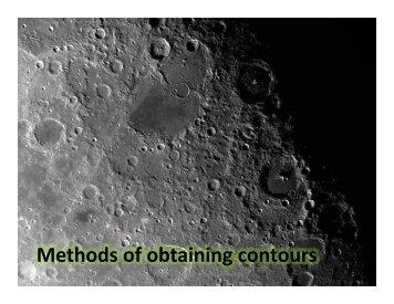Methods of obtaining i contours