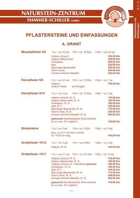Naturstein Zentrum Hammer