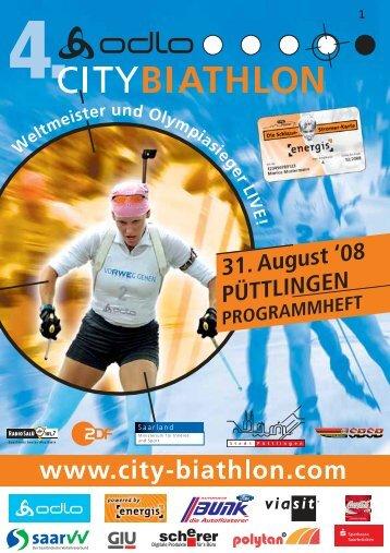 die biathleten - City-Biathlon der Weltelite