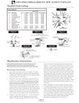 Table Of Contents Backflow Replacement Parts - Page 6