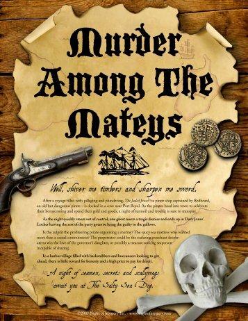 Murder Among The Mateys - Night of Mystery
