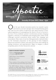 here - NSW Writers Centre