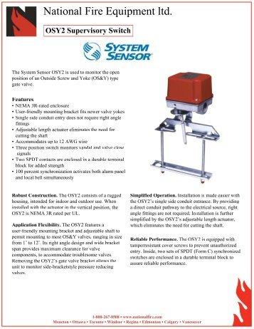 OSY2 Switch.pdf - National Fire Equipment
