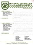 DRY PIPE SPRINKLER COMPRESSORS - National Fire Equipment - Page 2