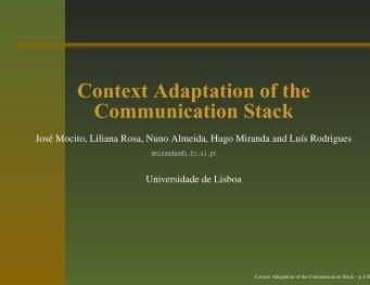 slides (pdf) - MiNEMA - Universidade de Lisboa