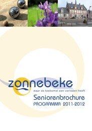 Seniorenbrochure - Gemeente Zonnebeke