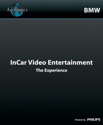 InCar Video Entertainment BMW - Eurologics