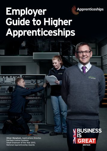 Employer Guide to Higher Apprenticeships