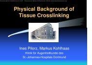 Tissue Crosslinking