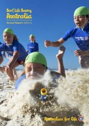 for the year ended 30 June 2011 - Surf Life Saving Australia