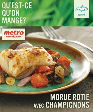 Télécharger la recette - Metro