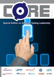 Special Edition on Software Testing Leadership - CORE Magazine