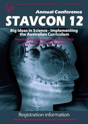 STAVCON 2012 Registration Information