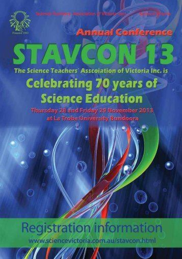 STAVCON 2013 Registration Information