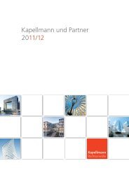 Kapellmann und Partner 2011/12