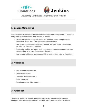 Jenkins Continuous Integration Cookbook