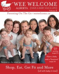 Parenting On The Go • Weewelcome.ca