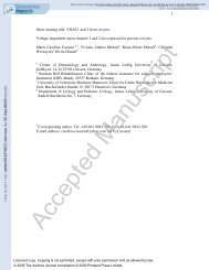 Voltage-dependent anion channel 1 and 2 are expressed in porcine ...