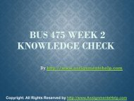 BUS 475 Week 2 Knowledge Check Complete Assignment Help.pdf
