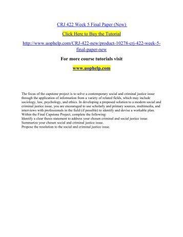 Crj201 law enforcement final paper