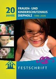 FESTSCHRIFT - Frauenhaus Diepholz