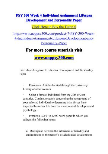 reflection paper on lifespan development My personal development 1 running head: my personal development a paper describing my personal development carney f coopwood, student chicago state university a paper presented for the course psyc 217 (01) on-line lifespan development fall 2007 my personal development 2 abstract: this paper in it.