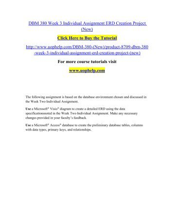 DBM 380 Week 3 Individual Assignment ERD Creation.pdf