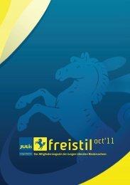 Freistil 2/2011 - Junge Liberale Niedersachsen