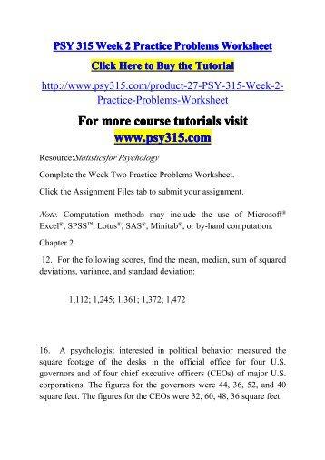 Variance And Standard Deviation Worksheet Free Worksheets Library ...