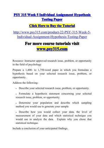week 2 psy 280 Psy 280 is a online tutorial store we provides psy 280 week 2 individual assignment human development paper.