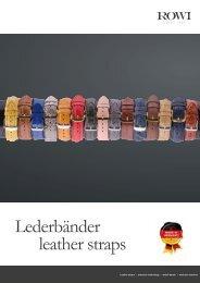 ROWI Leather watch bands catalog - Lederarmbänder Katalog.pdf