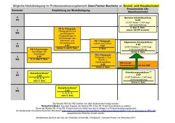 Lehramtsbezogener Professionalisierungsbereich [pdf] - Studium