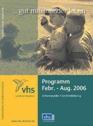 Anmeldung - VHS Diepholz