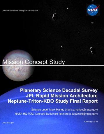 Mission Concept Study