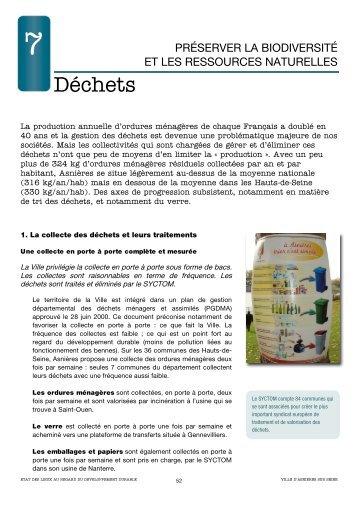 7.Déchets (pdf - 791,10 ko) - Asnières-sur-Seine