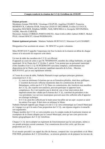 Compte rendu Grésillons - 15-01-2009 (pdf - 14,12 ko)