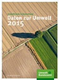 Umwelttrends in Deutschland