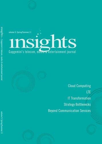 Cloud Computing LTE IT Transformation Strategy Bottlenecks ...