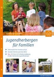 Familien-Service in rheinischen Jugendherbergen