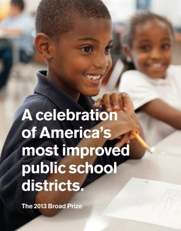 A celebration of America's most improved public school districts