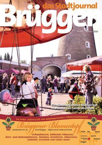 Stadtjournal Oktober 2010.pdf - Stadtjournal Brüggen